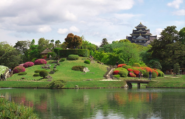 Koraku-en Garden in Okayama
