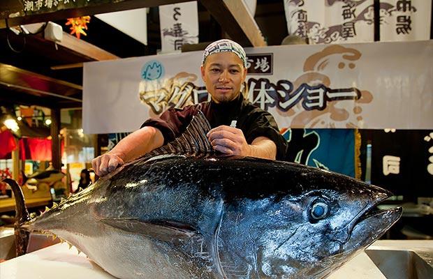 ตลาดปลาคุโระชิโอะ (Kuroshio Market)
